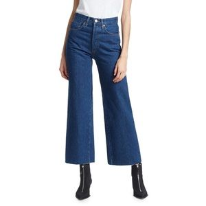 RE/DONE Wide Leg Crop Pant